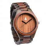 Redwood + Ebony 27 - All Wooden Watch
