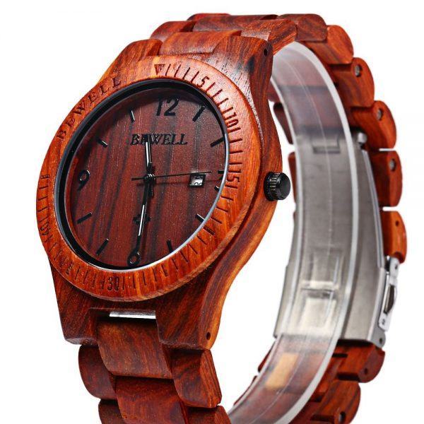 bewell-zs-w086b-red-wood-watch