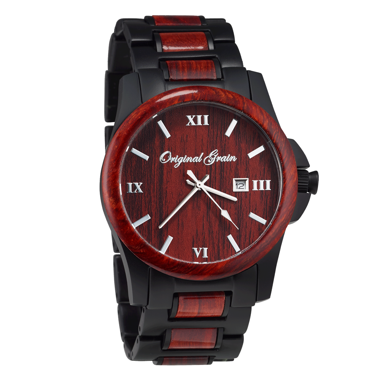 wood koa barrel original grain hawaiian collection steel watches stonewashed products by watch