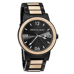 original-grain-maplewood-watch-with-matte-black-steel-band