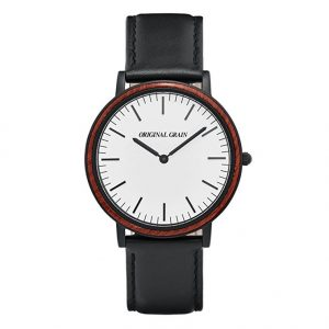 rosewood-black-minimalist-watch
