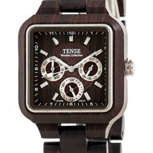 tense-dark-solid-wood-square-multi-eye-hypoallergenic-watch