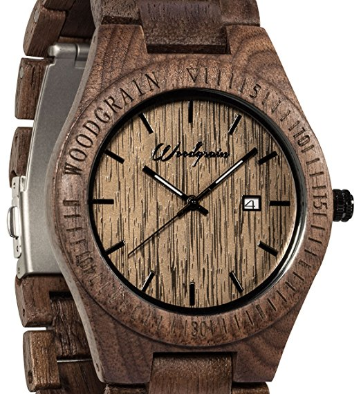 Walnut Wood Grain Watch