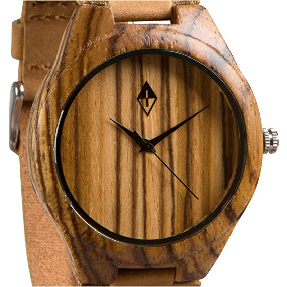 zebra-wood-with-brown-leather-band