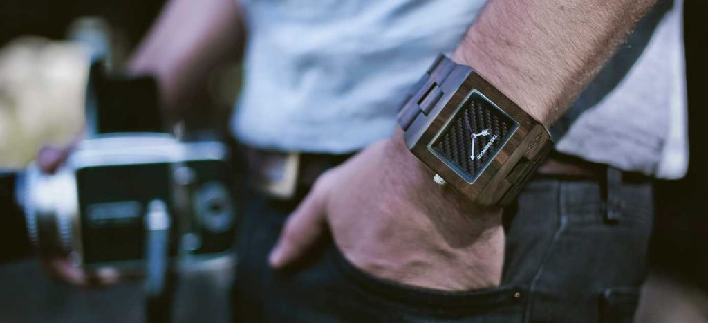 Wooden Watches - Magazine cover