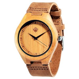 Tamlee Bamboo Wood Watch