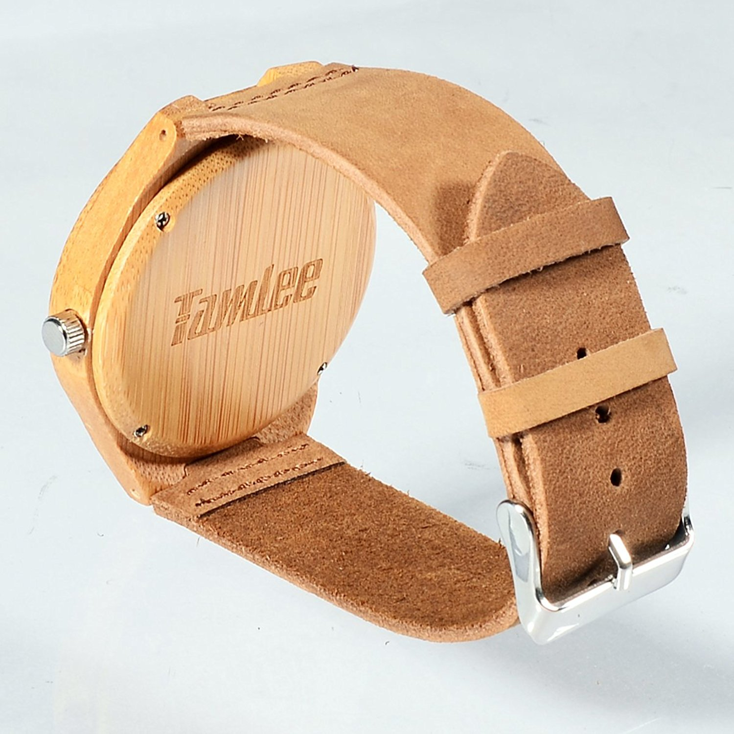 mens products strap the cowboy watch watches brown swell bamboo womens vision with stylish swellvision spo leather