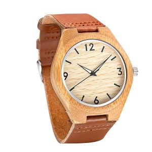 Tamlee Casual Wooden Watch for Men