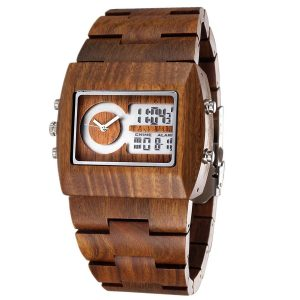 Tamlee Dual Display - LED Digital Analog Watch