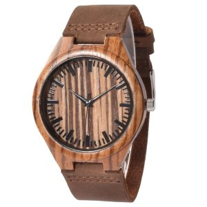 Walnut Wooden Watch