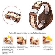 Bewell-W023A-Wooden-Bangle-Quartz-Watch-with-Date-Display-Vintage-Light-Style-for-Men (3)